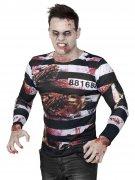 T-shirt de Zombie prisonnier Halloween