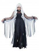 Vous aimerez aussi : Déguisement fantôme élégant Halloween femme noir