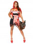 Petit chaperon rouge zombie femme
