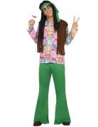 Vous aimerez aussi : Déguisement hippie homme vert et fleurs