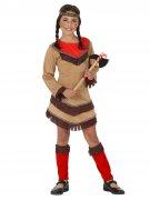 Déguisement petite indienne de l'Ouest sauvage fille