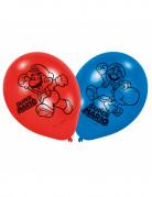 6 Ballons latex Super Mario™