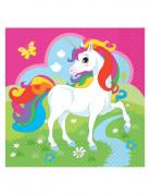 Vous aimerez aussi : 20 Serviettes en papier Licorne multicolore 33 x 33 cm