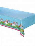 Nappe en plastique Licorne 120 x 180 cm