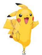 Ballon aluminium Pikachu Pokémon™ 62 x 78cm