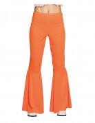 Pantalon disco orange femme