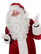 Perruque et Barbe Luxe Père Noël Adulte