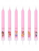 8 Bougies anniversaire Princesses Disney™