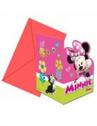 Vous aimerez aussi : 6 Invitations + enveloppes Minnie Happy ™