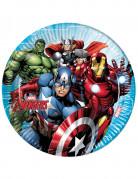8 Assiettes en carton FSC 23 cm Avengers Mighty™