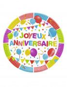 Vous aimerez aussi : 6 Assiettes en carton Ballons d'anniversaire 23 cm