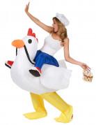 Vous aimerez aussi : Déguisement poulet gonflable adulte
