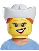 Masque cowgirl LEGO™ enfants