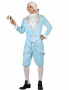 Déguisement prince baroque bleu homme