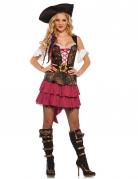 Vous aimerez aussi : Déguisement pirate baroque sexy rose femme