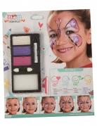Maquillage perle des papillons fille