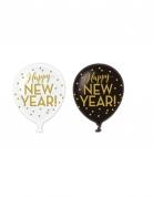 Vous aimerez aussi : 6 Ballons latex Happy new year doré 30 cm