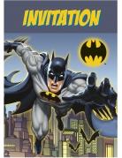 8 Cartes d'invitation Batman ™