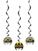 3 Décorations spirale à suspendre Batman™