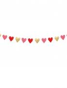 Guirlande petits coeurs Love you 2 m