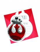 Vous aimerez aussi : 6 cartes d'invitation + enveloppes Star wars 8 The Last Jedi ™