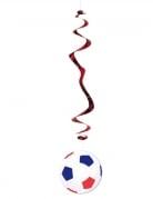 Vous aimerez aussi : 6 suspensions Ballon de Football bleu blanc rouge 80 cm