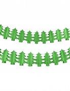 Guirlande papier ignifugé sapin vert 4,5 m