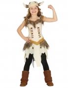 Déguisement viking beige fille