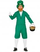Déguisement leprechaun vert homme