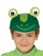Casquette grenouille rigolote enfant