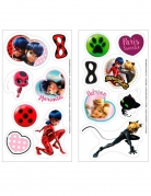 14 Mini disques en sucre Ladybug ™ 3,4 cm