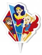Bougie anniversaire Hero Girls™ 7.5 cm