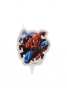 Bougie anniversaire Spiderman™ 7,5 cm