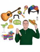 Vous aimerez aussi : Kit photobooth thème Mexique 13 pièces