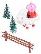 Kit de décoration pour gâteau Peppa Pig ™ 9 cm