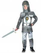 Déguisement chevalier médiéval en armure garçon