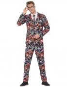 Costume Mr. Clown maléfique adulte