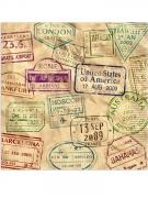 Vous aimerez aussi : 16 Serviettes en papier Tour du Monde 33 x 33 cm