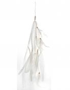 Suspension plume blanche 35 cm