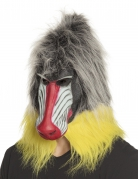 Masque latex babouin adulte