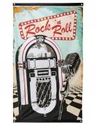 Drapeau Rock'n roll 90 x 150 cm