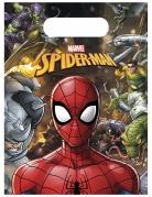 6 Sacs à cadeaux Spiderman™ 18 x 13 cm