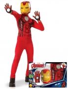 Coffret classique Iron Man™ avec gants garçon