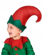 Chapeau lutin avec grelots enfant
