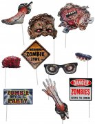 10 Accessoires photobooth zombie