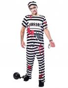 Déguisement prisonnier zombie homme