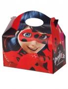 4 Boîtes en carton Ladybug™ 10,5 x 15 cm