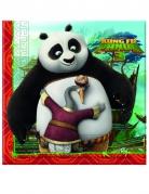 Vous aimerez aussi : 20 Serviettes en papier Kung Fu Panda 3™ 33 x 33 cm