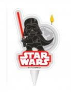 Bougie d'anniversaire Dark Vador Star Wars™ 2D 7,5 cm