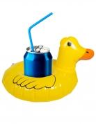Mini bouée pour boissons Canard jaune